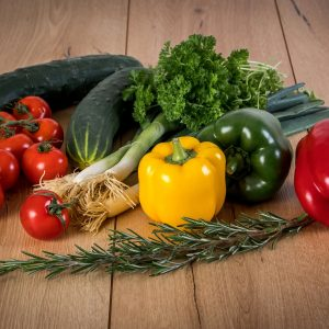 Farm fresh vegetables available in season